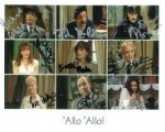 Allo Allo Cast (x9 Autographs) - Genuine Signed Autograph